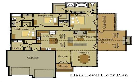 cabin floor plans with loft one cottage house plans cottage house plans one