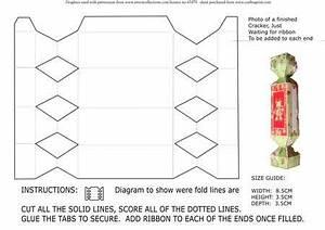 christmas cracker template on craftsuprint designed by With christmas cracker template printable
