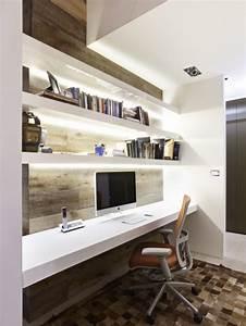 Idée Déco Bureau Maison : 42 id es d co de bureau pour votre loft ~ Zukunftsfamilie.com Idées de Décoration