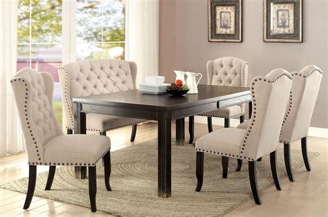 furniture  america sania  dining table set cmbk
