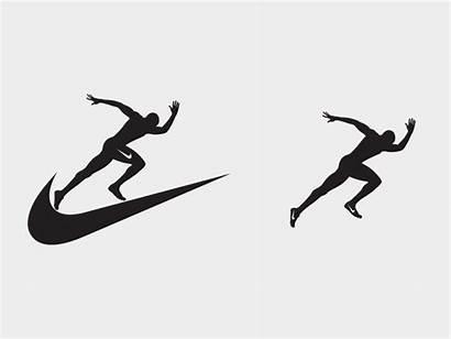Nike Track Running Field Logos Graphic Dribbble