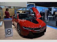2016 Geneva Motor Show BMW i8 Protonic Red Edition makes