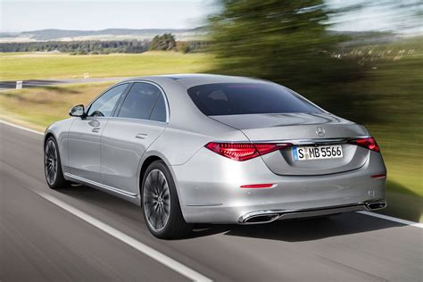 This redesigned flagship sedan again pushes boundaries of comfort, convenience, and innovation. 2021 Mercedes-Benz S-Class revealed with ground-breaking tech