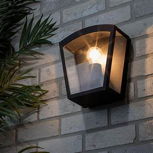 Hamble, Outdoor, Lantern, Curved, Wall, Light