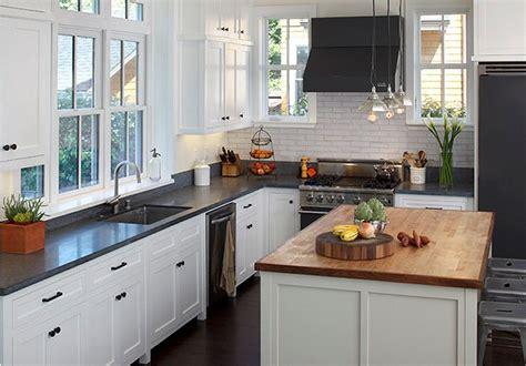 ardoise de cuisine cuisine plan de travail de cuisine classique fonc en