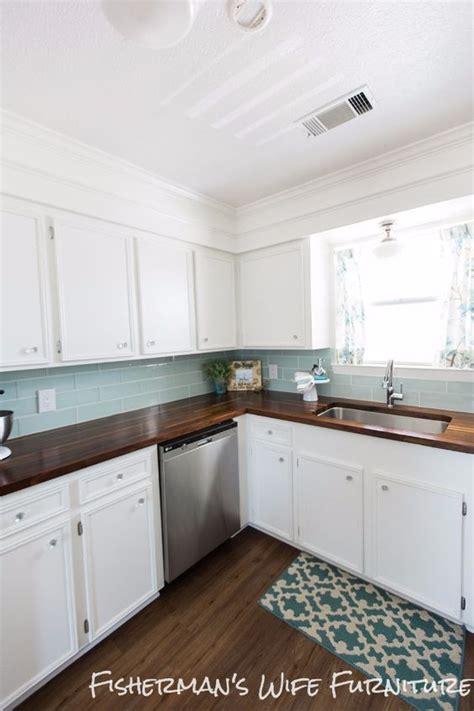 budget kitchen makeover diy faux marble countertops 37 brilliant diy kitchen makeover ideas butcher block