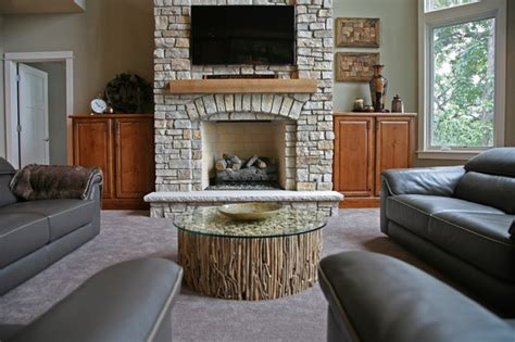 lake house living room lake house contemporary living room milwaukee by
