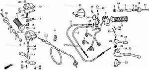 Honda Atv 1986 Oem Parts Diagram For Switch