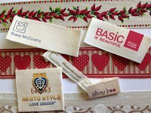 personalized garment labels affordable low minimum With custom design clothing labels