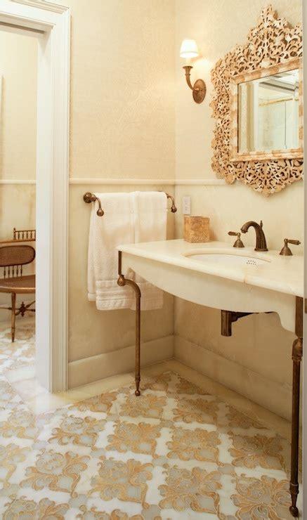 Moroccan Bathroom Floor Tiles by Moroccan Tile Floor Mediterranean Bathroom Carole