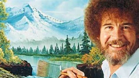 Bob Ross Art Show Opens Tonight