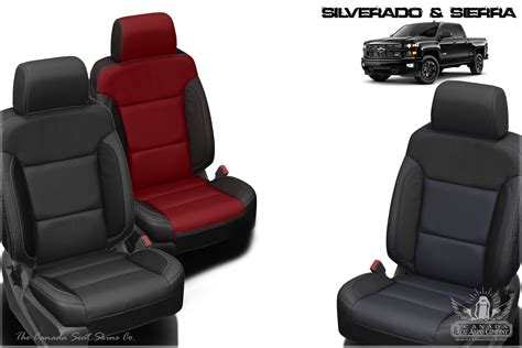 chevrolet silverado custom leather upholstery