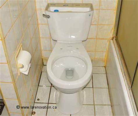 comment installer une toilette