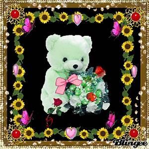 Blumen Der Liebe : der wunderschoene liebe teddybaer bringt blumen fuer dich herrliche blueten herzen buttferflys ~ Orissabook.com Haus und Dekorationen
