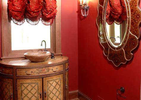 desain kamar mandi unik bernuansa warna merah informasi