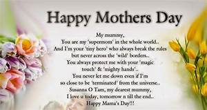 Beautiful mothers day Poems