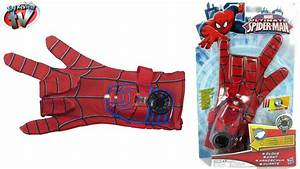 Marvel Ultimate Spider-Man Hero FX Glove Toy Review ...