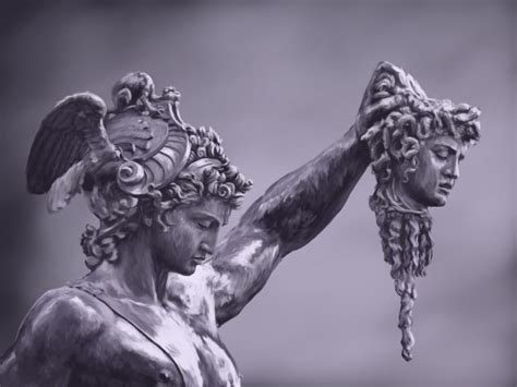 Perseus With The Head Of Medusa Picture Perseus With The