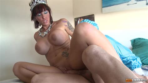 Amateur With Huge Tits Smashing Nude Porn On Top Of A Big