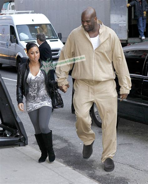 Shaquille O'Neal and Girlfriend