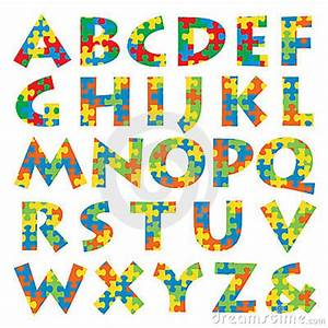 puzzle alphabet royalty free stock image image 10995726 With puzzle piece letters