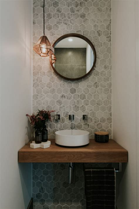 powder room mirror powder room contemporary with bathroom opens the doors to luxurious and contemporary