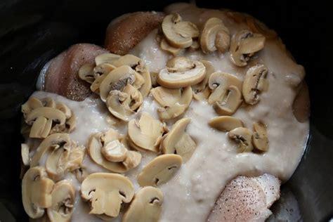 easy slow cooker recipes mushroom chicken