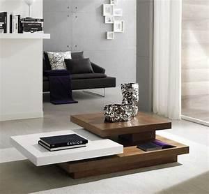 Wohnzimmertisch Holz Weiß : 47 design couchtische die perfekt ins moderne wohnzimmer passen ~ Frokenaadalensverden.com Haus und Dekorationen