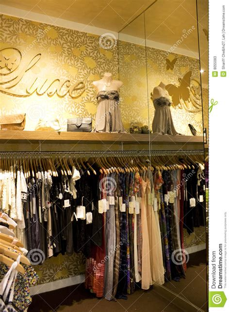 Vintage Ladies Clothing Shop Stock Image   Image: 8055083