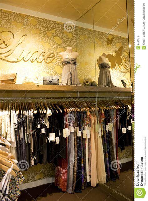 Vintage Ladies Clothing Shop Stock Image   Image: 8055083