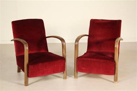 Poltrone Design Anni 30 : Poltrone Art Deco Anni '20 Vintage