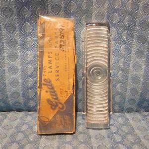 1939 Dodge Nos Apt Glass Tail Light    Lamp Lens  U2013 Nos