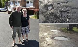 Think your council drags its heels? Potholed road is ...