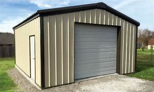 quick ship bolt up steel building kits shop garage kits With 20x30 metal building