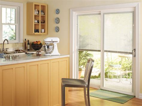 thermastar by pella 174 sliding patio door traditional kitchen