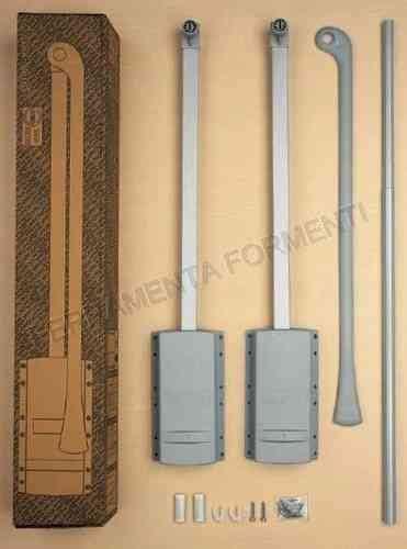 accessori per armadi guardaroba accessori per armadio e guardaroba colore grigio alluminio