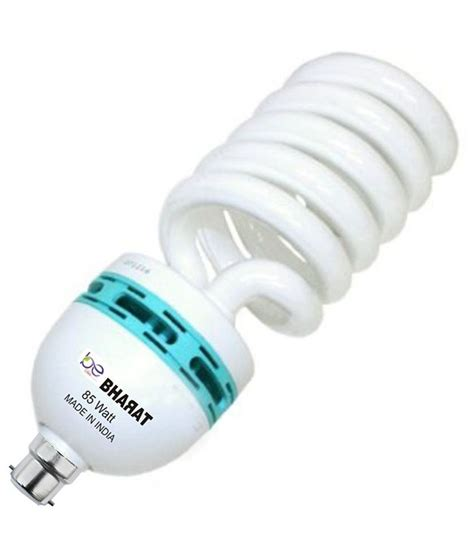 watt spiral cfl bulb white light buy  watt spiral