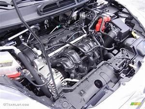 2013 Ford Fiesta Titanium Sedan 1 6 Liter Dohc 16