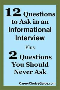 Questions To Ask On An Informational Interview 12 Informational Interview Questions To Ask