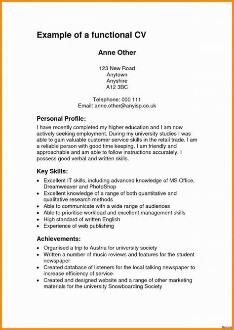 profile resume exles talktomartyb