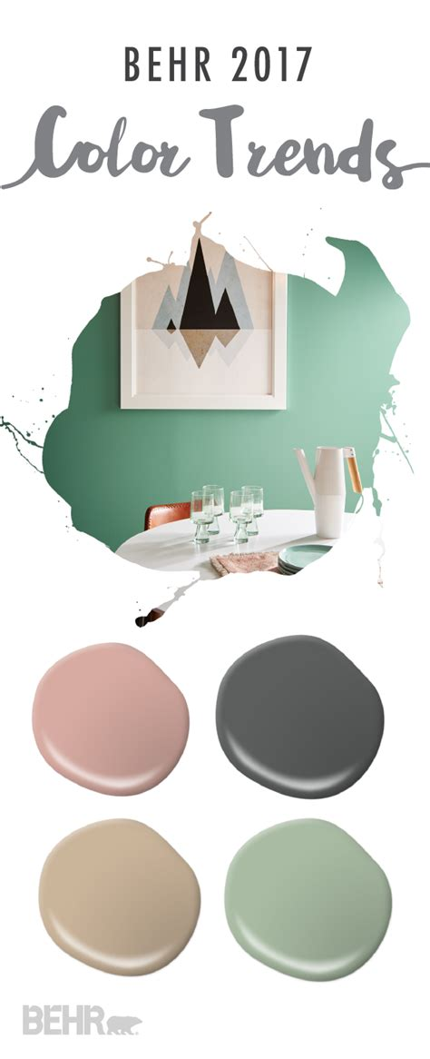 soft neutrals get a trendy spin thanks to the behr 2017