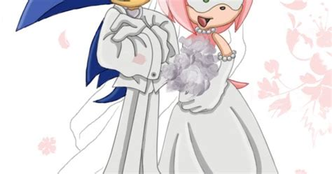 Sonic And Amy's Wedding Day. Kind Of Funny Seeing Sonic In