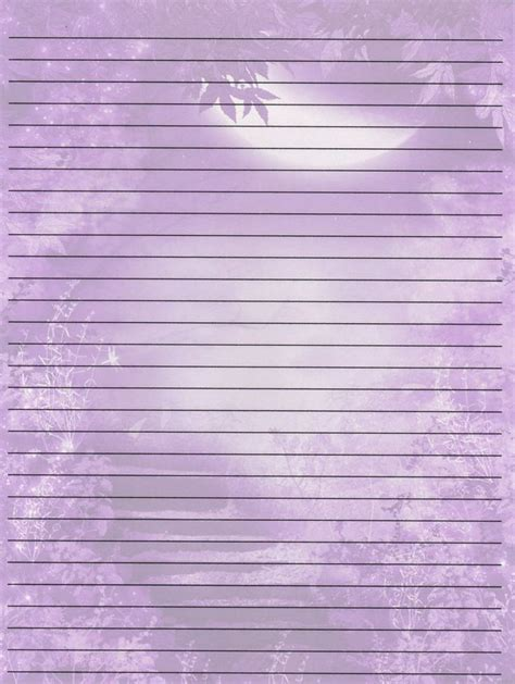 lined paper printables   pretty
