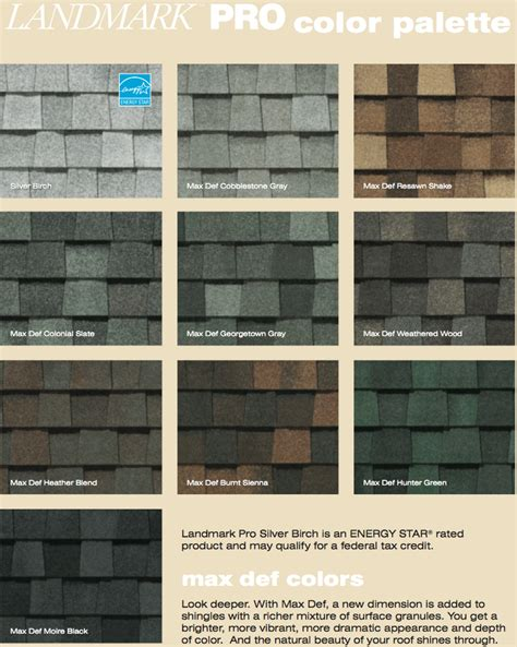 landmark shingles colors landmark pro shingles colors level 1 general