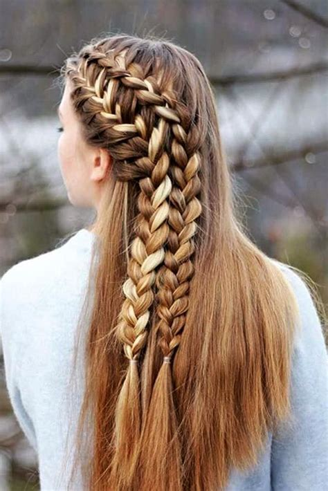 63 amazing braid hairstyles for party and holidays hair