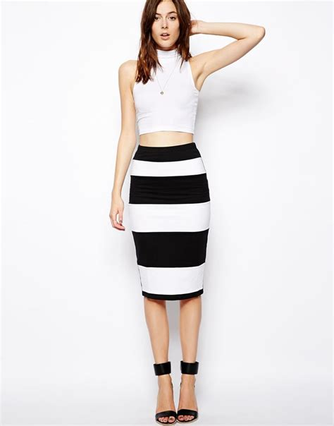 the 25 best striped pencil skirts ideas on