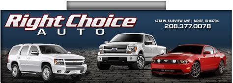 Right Choice Auto   Boise, ID: Read Consumer reviews