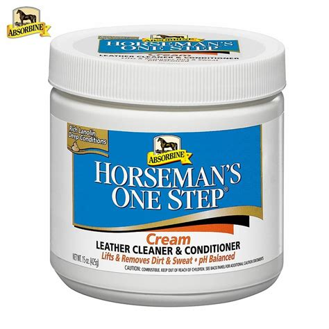 leather conditioner cleaner cream saddle step boots tack