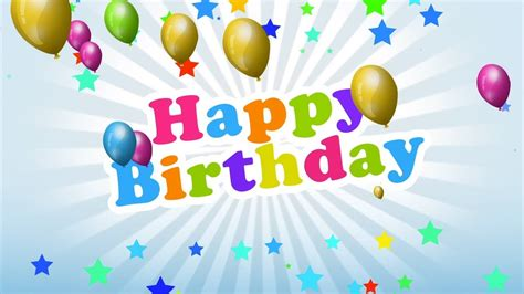 Happy Birthday Backgrounds by Motion Graphics Animation For Happy Birthday Background