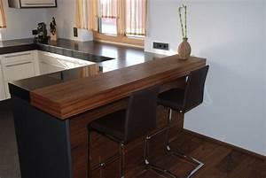 Glasplatte Für Küche : k chen mit bartheke ~ Michelbontemps.com Haus und Dekorationen
